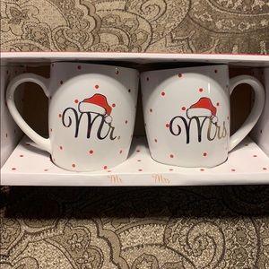 Mr. & Mrs. Coffee Mugs❤️